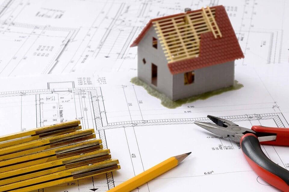 plan pour l'aménagement extérieur