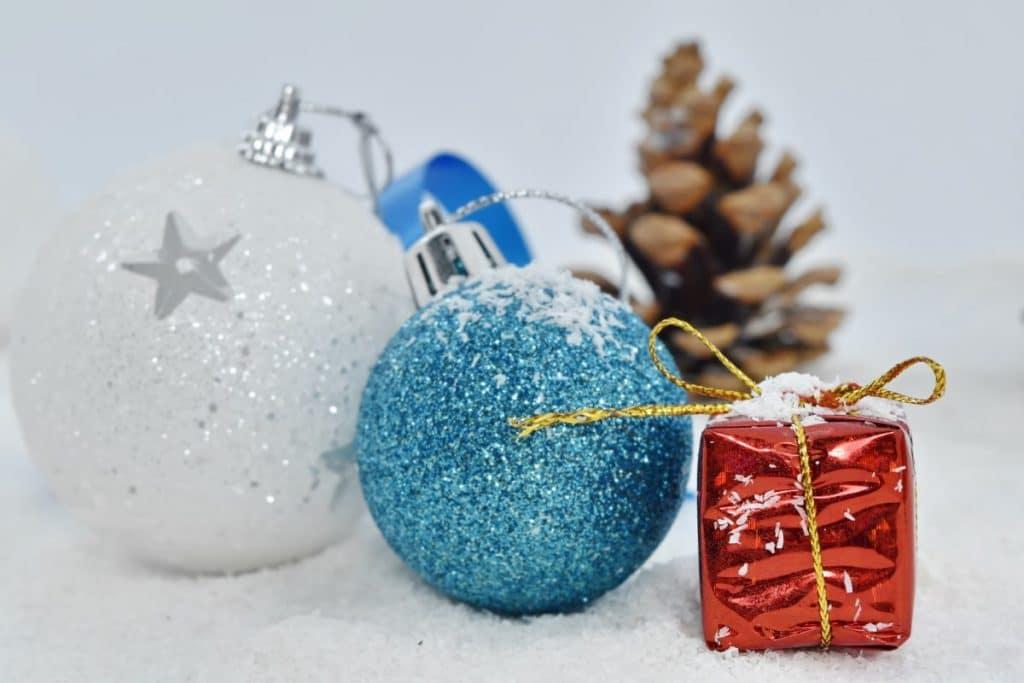accessoires de décoration d'hiver