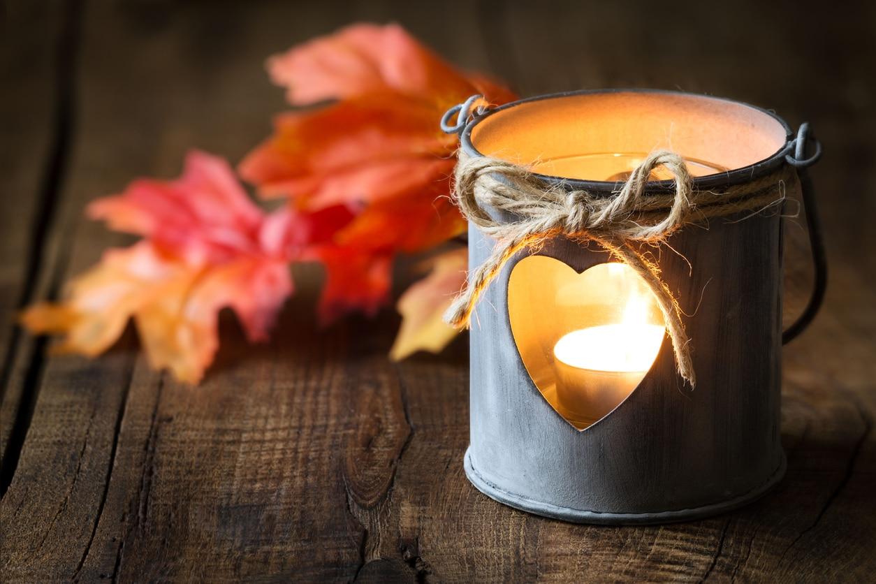 boite de conserve photophore romantique