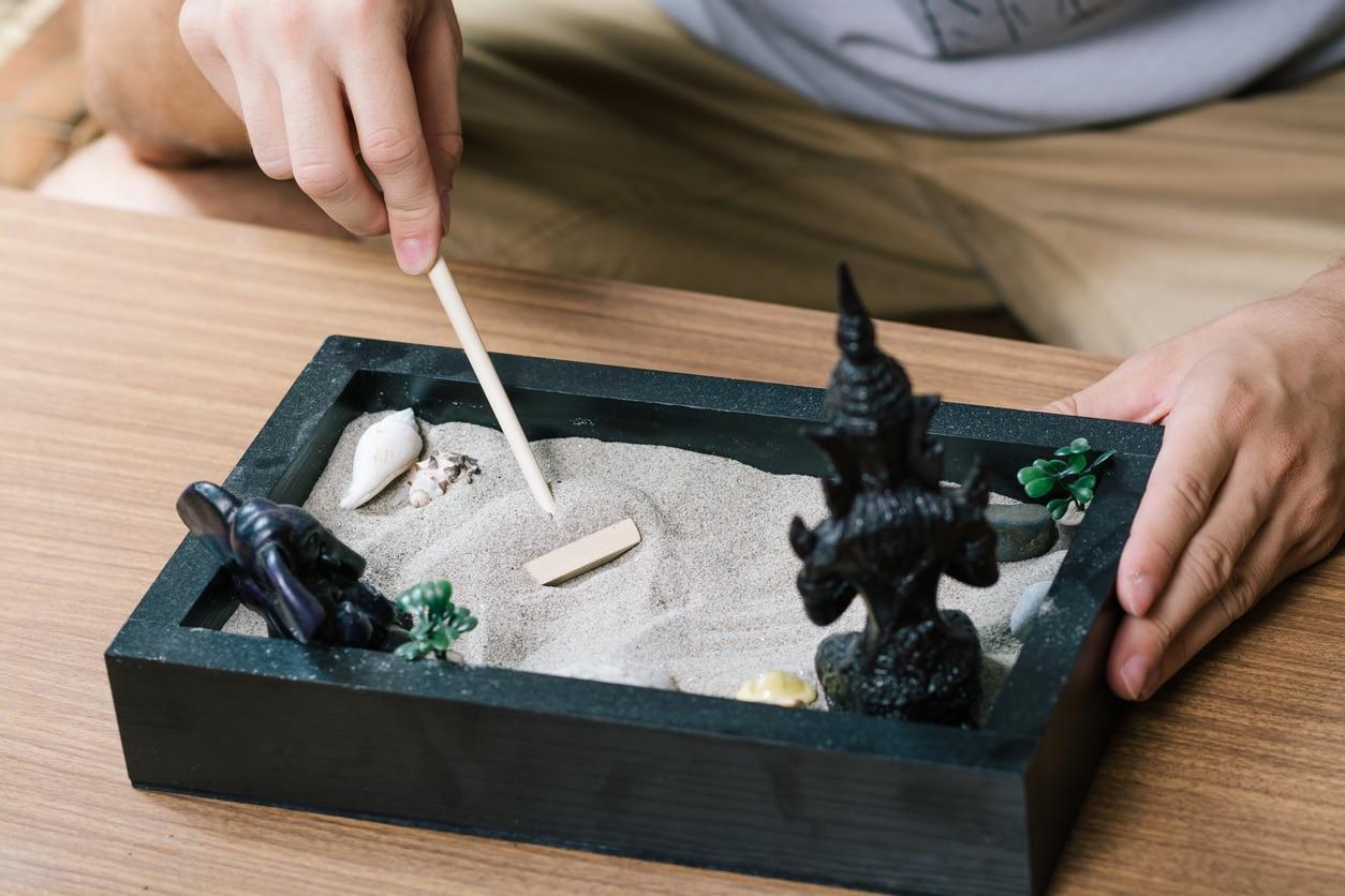 réaliser un jardin zen miniature