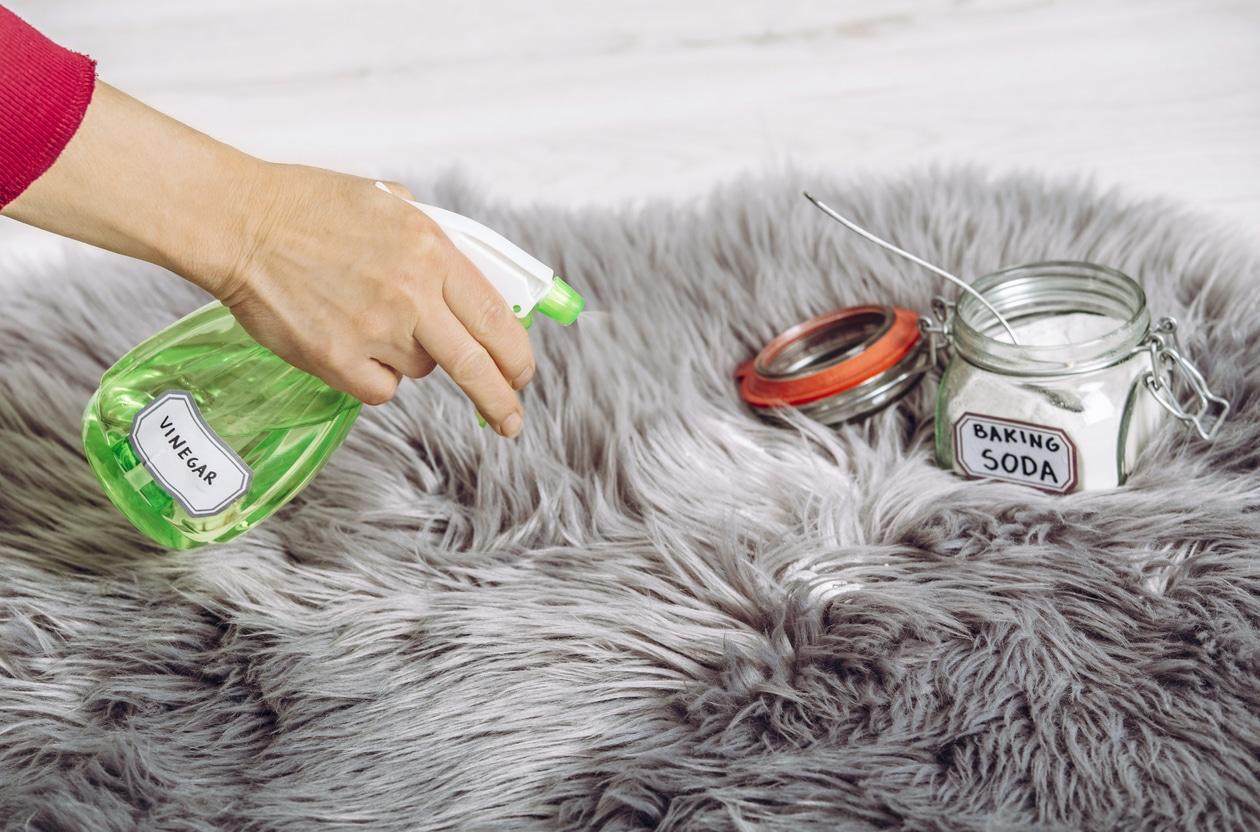 nettoyage tapis vinaigre bicarbonate