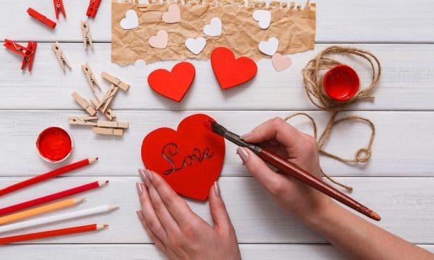 Bricolage de Saint Valentin et décoration à faire soi-même