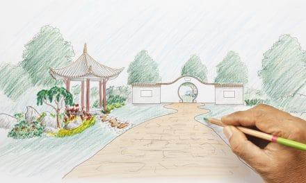 Comment faire le plan d'un jardin japonais ?