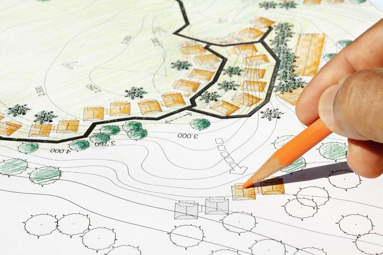 réalisation plan jardin japonais