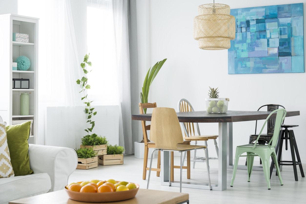 table rectangulaire salle à manger