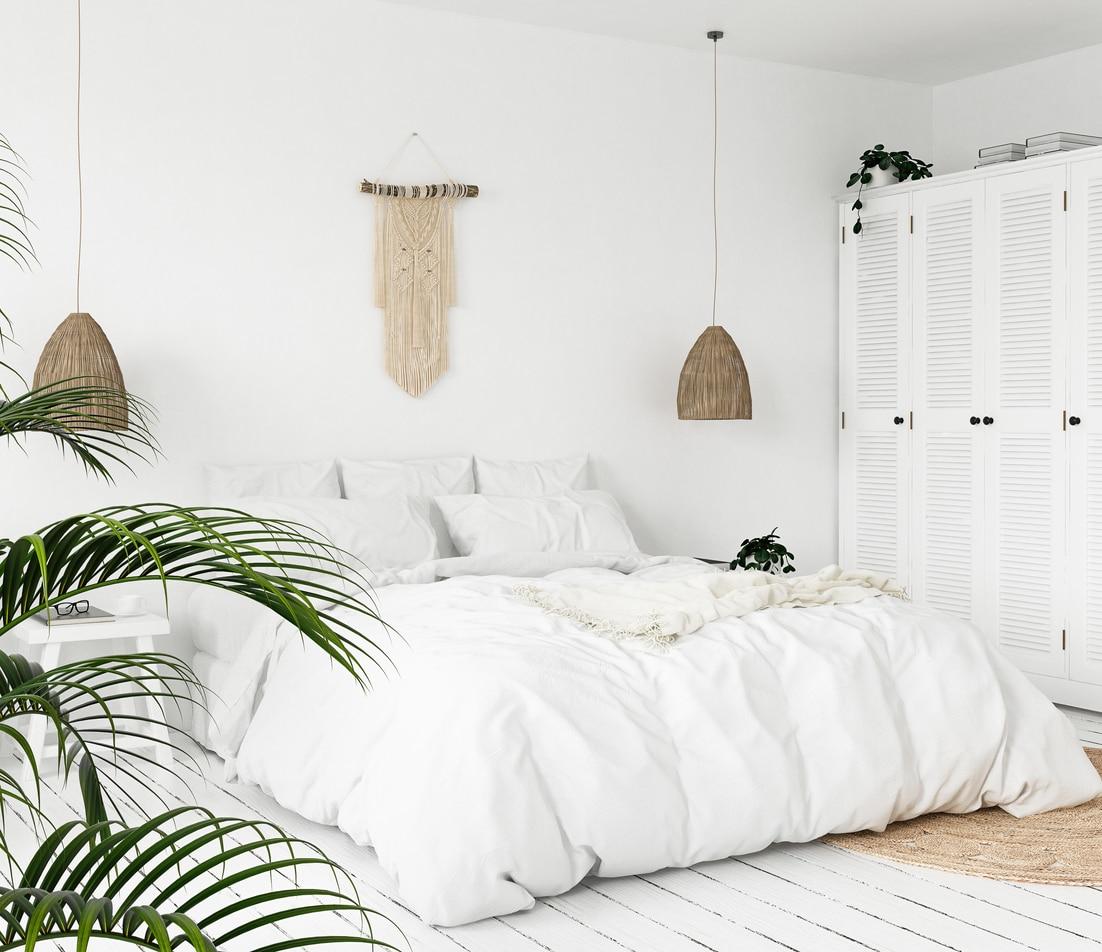 chambre fashionista - décoration scandinave