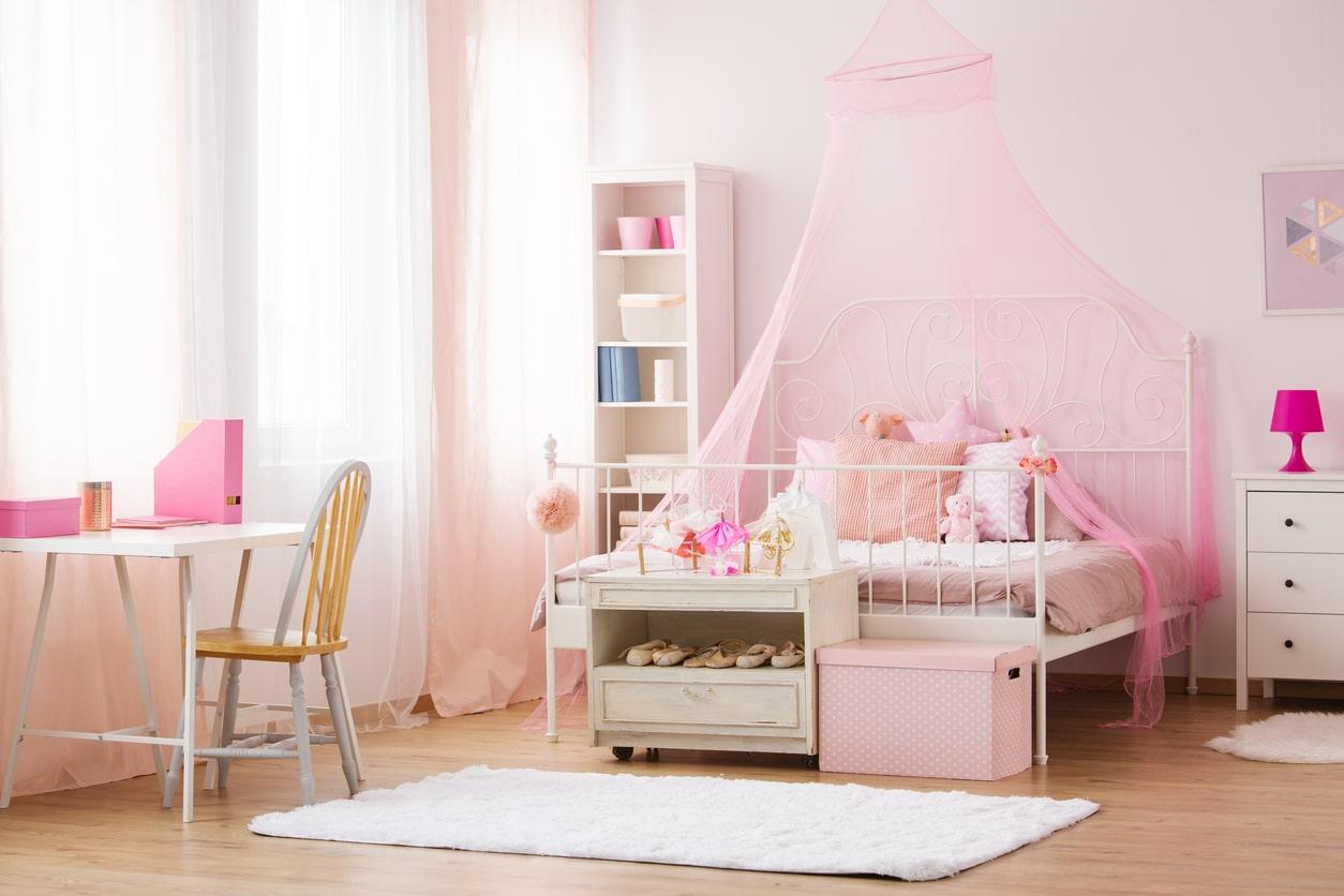 décoration romantique - chambre à coucher