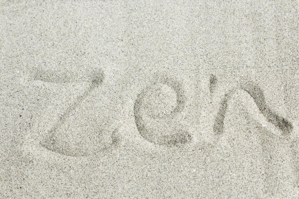 sable de jardin zen