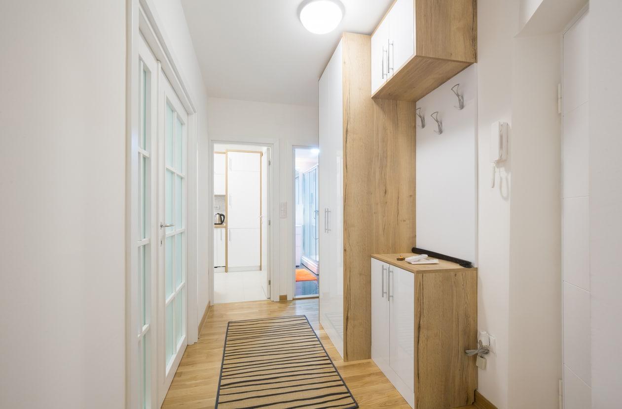 corridor - peinture de couloir