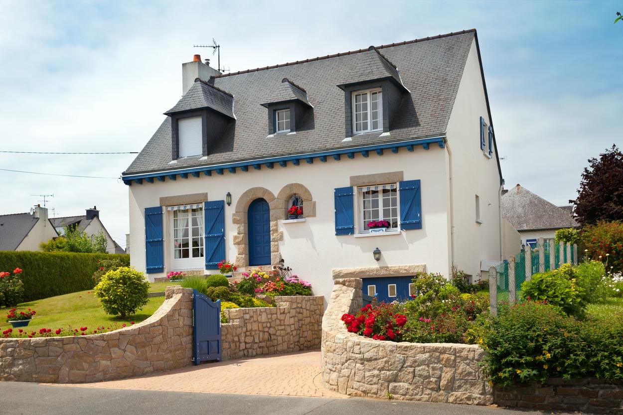 petite maison campagnarde