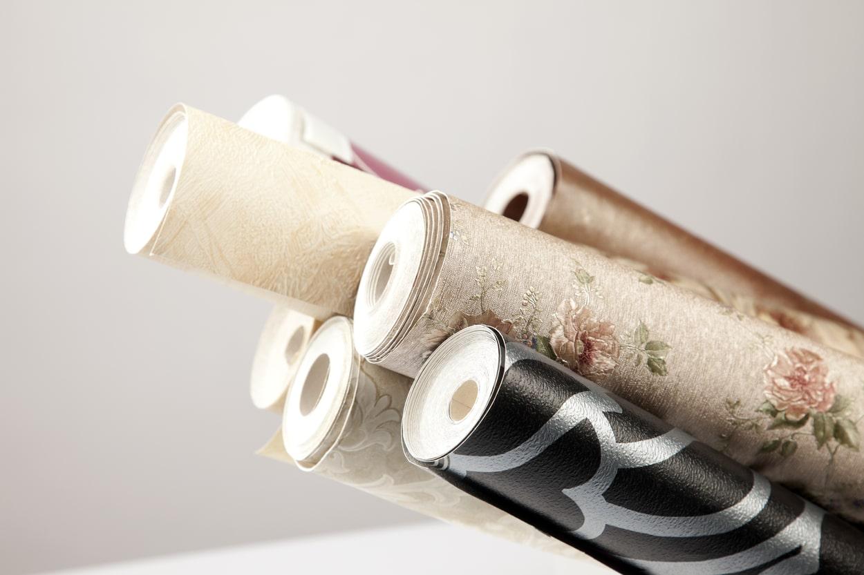 différents types de papier peint