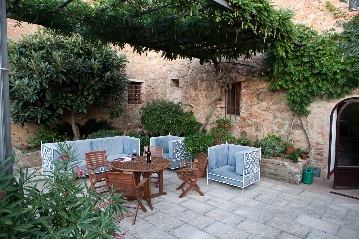 terrasse médiévale