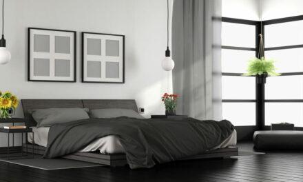 Suite parentale moderne, aménagement et décoration