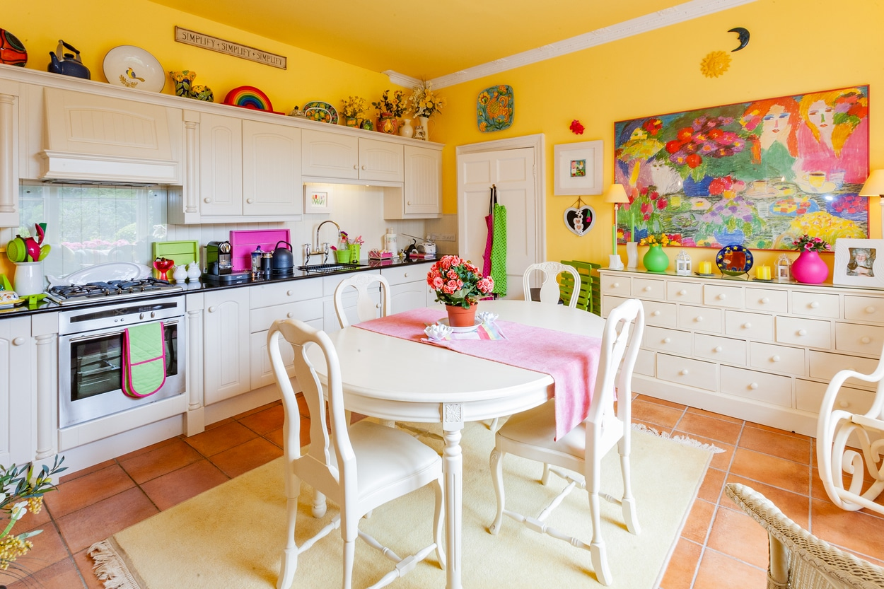 couleurs vives - cuisine