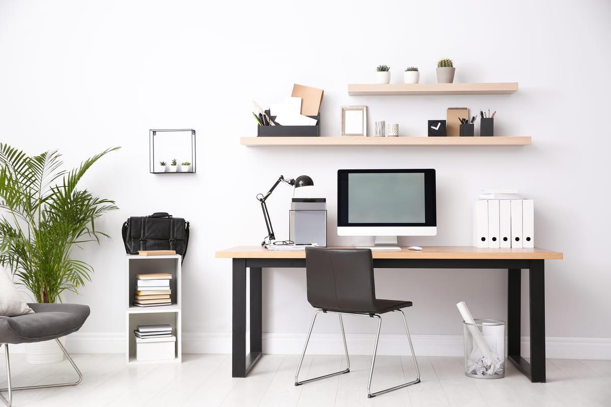 table chaise bureau design